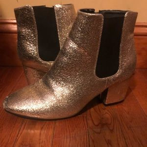 Glitter is Gold booties